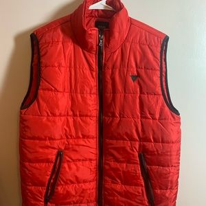 Red Guess Vest
